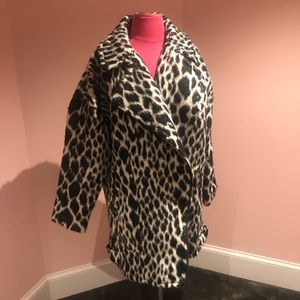 AMAZING banana republic zebra 🦓 coat